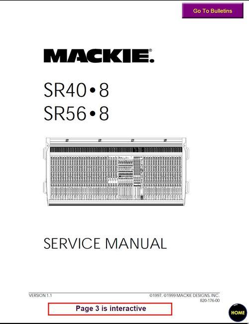 mackie sr 40 8 \u0026 sr 56 8 , service manual download manuals \u0026pay for mackie sr 40 8 \u0026 sr 56 8 , service manual