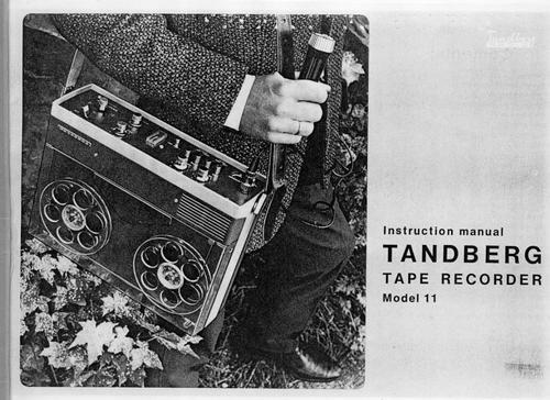 Pay for Tandberg Model-11 reel to reel , Owner Manual , User Guide