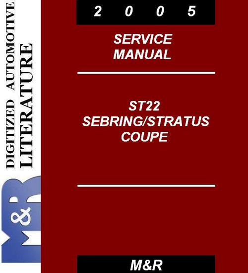 2005 st22 stratus coupe dodge   service manual download 1999 dodge stratus owners manual dodge stratus service manual pdf