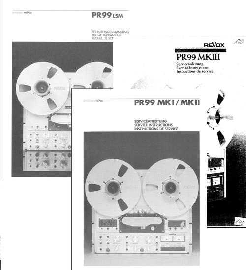 Revox Pr99 Mk2 Service Manual