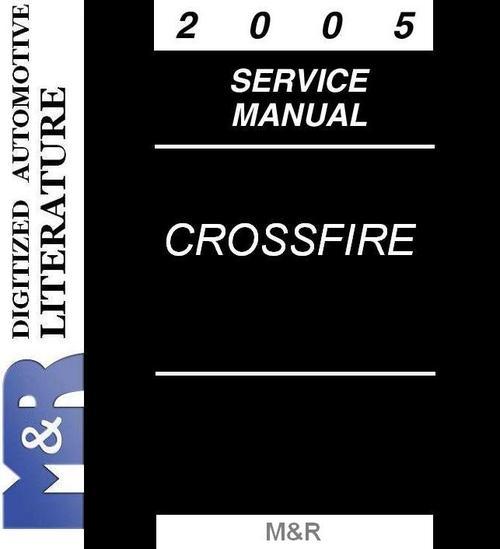 Pay for 2005 Crossfire & Srt-6 Chrysler ZH Service Manual version 6
