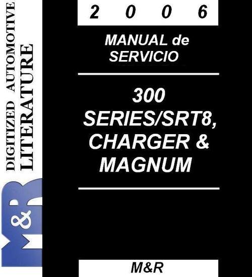 2005 chrysler 300 300c manual de servicio lengua. Black Bedroom Furniture Sets. Home Design Ideas