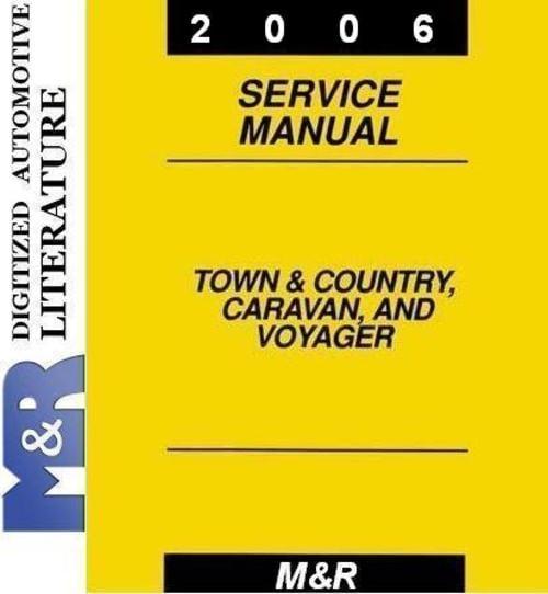 Dodge caravan chrysler voyager & town & country 2003 thru 2….