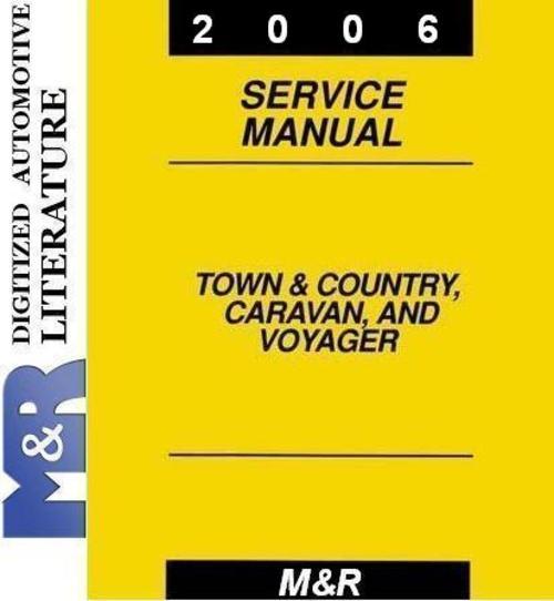 2006 town country caravan chrysler service manual download rh tradebit com 2006 chrysler town and country service manual pdf 2006 town and country van manual