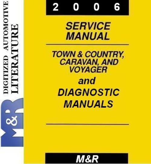 Pay for 2006 Voyager Chrysler Service Manual & Diagnostic Manuals