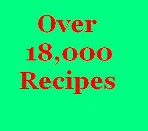 Thumbnail Over 18,000 Recipes - This Package Covers It ALL!!!