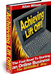 Thumbnail Achieving Lift Off - Starting An Online Business eBook
