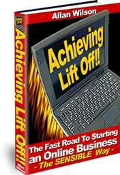 Thumbnail Achieving Lift Off - Starting An Online Business eBook
