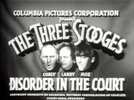 THE THREE STOOGES - DISORDER IN THE COURT - COMEDY - 1936
