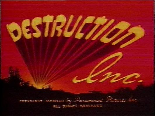 Pay for SUPERMAN - DESTRUCTION INC. - CARTOON - 1942 - ANIMATION