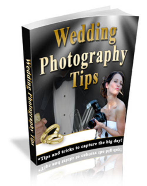 Pay for Wedding Photography With MRR