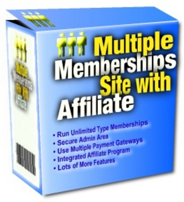 Pay for Multiple Membership Site With Affiliates With Master Resale Rights
