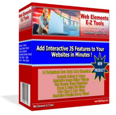 Pay for Web Elements E-Z Tools With Master Resale RIghts