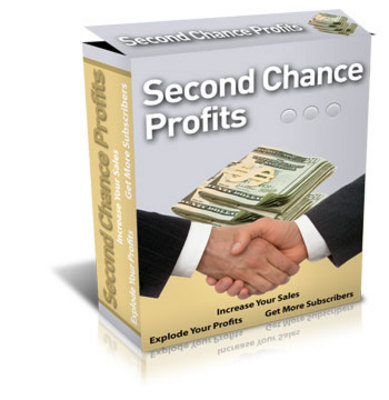 Pay for Second Chance Profits Script - Cash in on your abandonment traffic WIth Master Resale Rights