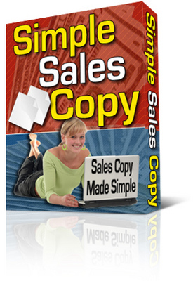Pay for Simple Sales Copy Creator. With Private Labels Rights +  Master Resale Rights