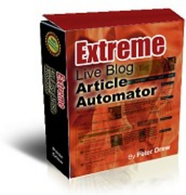 Pay for Extreme Live blog Article Automator With Master Resale Rights