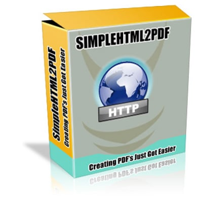 Pay for SIMPLE HTML 2 PDF with Master Resale Rights