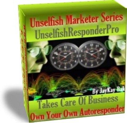 Pay for Our AutoResponder: UnselfishResponderPro With Master Resale Rights