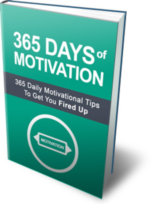 Pay for 365 Daily Motivational Tips To Get You Fired Up
