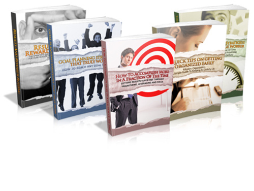 Pay for The Goal Setting & Getting Results Series (5 Books)