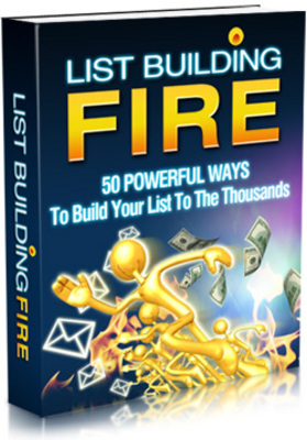 Pay for List Building Fire Full Package With Master Resale Rights
