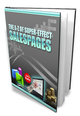 Pay for A-Z Super Effective Sales Page With Master Resale Rights