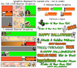 Thumbnail 33 NEW Halloween Website Graphics
