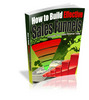 Thumbnail How To Build Effective Sales Funnels- Resell/giveaway Rights