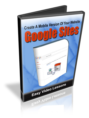 Pay for Create Mobile Optimized Sites Using Google Sites