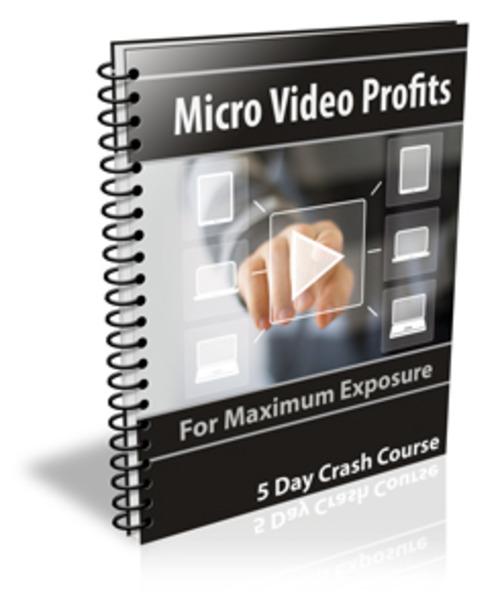 Pay for Micro Video Profits Autoresponder course - PLR