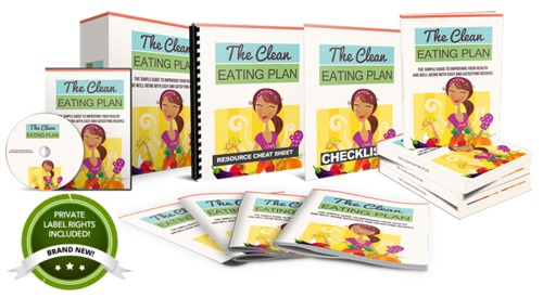Pay for The Clean Eating Plan PLR Product