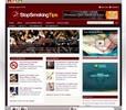 Thumbnail Complete Stop Smoking Niche Website built on Wordpress