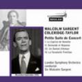 Thumbnail Coleridge Taylor Petite Suite de Concert LSO Sargent