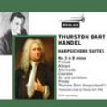 Thumbnail Handel Harpsichord Suite No 3 in d minor Thurston Dart
