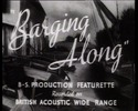 Thumbnail Barging Along - WW II  waterways film