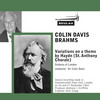 Thumbnail Brahms Variations on a theme by haydn sol colin davis col