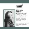 Thumbnail Mozart Piano Concerto No 22 K482 3rd mvt Geza Anda