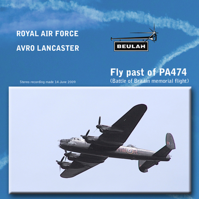 Pay for Fly past of Avro Lancaster PA474