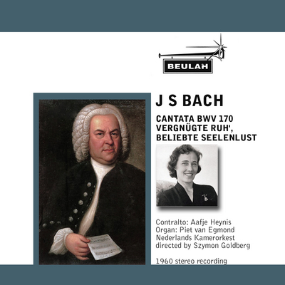 Pay for Bach Cantata No 170 Aafje Heynis