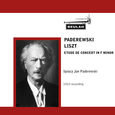 Pay for  liszt etude de concert in f minor Paderewski