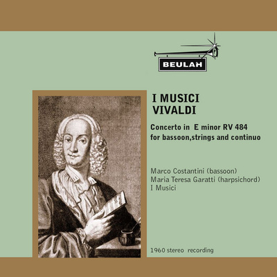 Pay for Vivaldi  Bassoon Concerto in E minor  RV484 I Musici