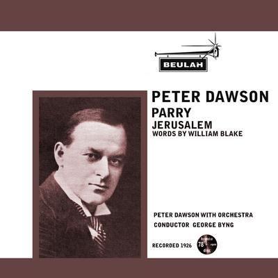 Pay for Parry Jerusalem Peter Dawson