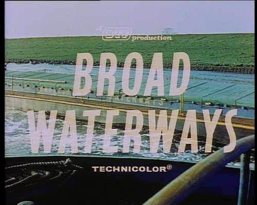 Pay for Broad Waterways  BTF 1960