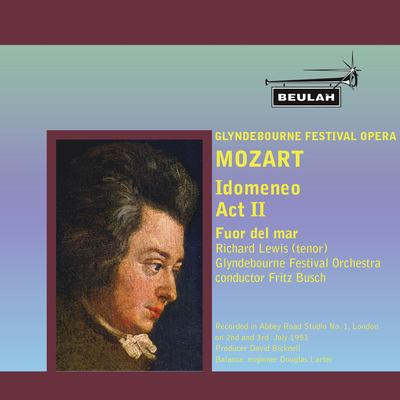 Pay for Mozart Idomeneo Fuor del mar Richard Lewis