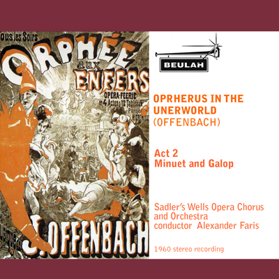 Pay for Offenbach Orpheus in the Underworld Minuet and Galop
