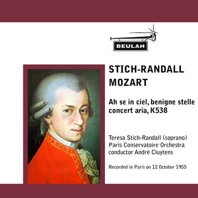 Pay for Mozart  Ah se in ciel Teresa Stich Randall