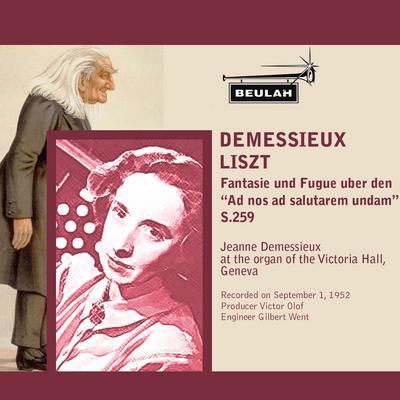 Pay for Liszt Fantasie und Fugue uber den  Ad nos S259 Demessieux