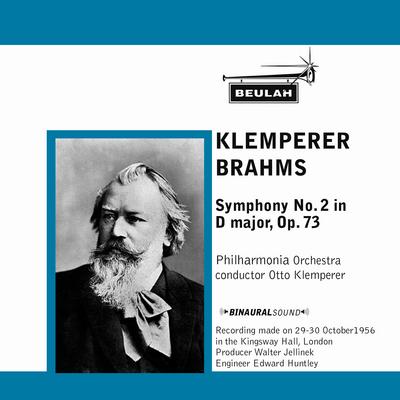 Pay for Brahms Symphony No 2 1st mvt Philarmonia Klemperer