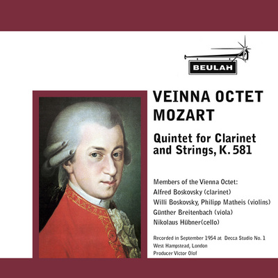 Pay for Mozart Clarinet Quintet K 581 2nd mvt Vienna Octet