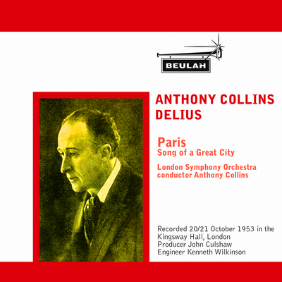 Pay for Delius Paris Song of a  Great City LSO Anthony Collins